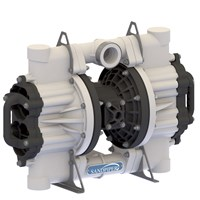 AODD Pump 2 Inch Non-Metallic Flap Type for Mining 1