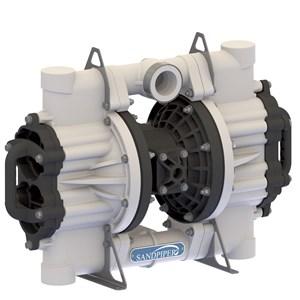 AODD Pump 2 Inch Non-Metallic Flap Type for Mining