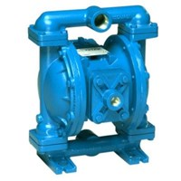 AODD Pump 1 Inch Metallic - Stainless Steel Body PTFE Diaphragm & Santoprene Check Valve 1