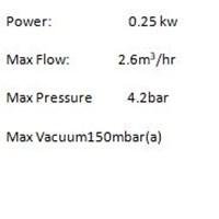 Jual  VACUUM PUMP DIAPHRAGM DOA-P504-BN GAST 2