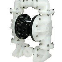Jual AODD Pump 1.5 Inch Non-Metallic  -  PP Body Check Valve Santoprene Diaphragm 2
