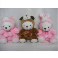 Jual Boneka Animal Costume Cat-Dog-Rabbit 9'-12'