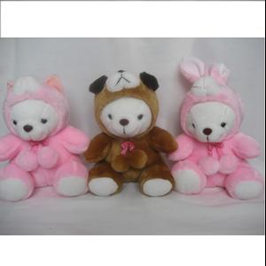 Boneka Animal Costume Cat-Dog-Rabbit 9'-12'