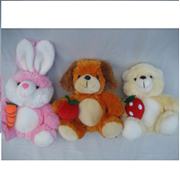 Jual Boneka Animal With Fruit 10'