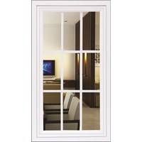 Jendela Upvc Fixed Glass Splus