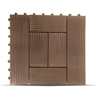 Lantai Outdoor Wpc Decking Tile Splus