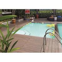 Beli Lantai Outdoor Wpc Decking Tile Splus 4