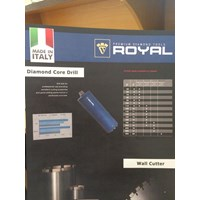 Beli Royal Diamond Core Drill Dia 200- Mata Coring 4