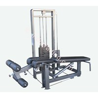 Jual Leg Extension + Leg Curl + Triceps Press + Biceps (4 In 1)