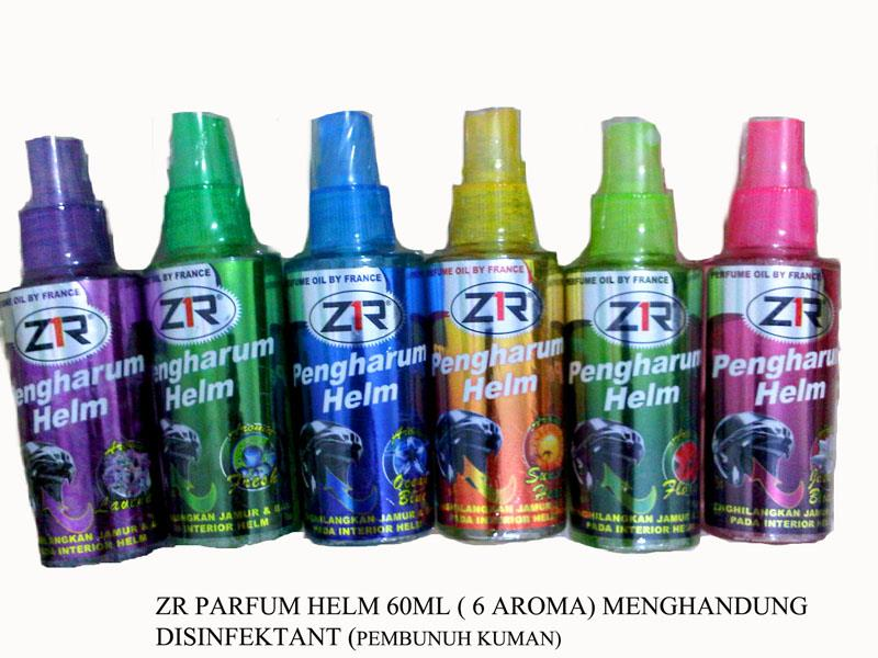 Sell Helmet Perfume Zr 60ml With 4 Fragrants From Indonesia By Pt