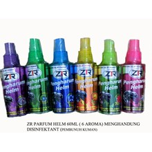 Helmet perfume ZR 60ml with 4 fragrants