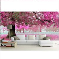 Jual Wallpaper Dinding Bunga Sakura