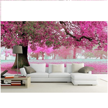 Wallpaper Dinding Bunga Sakura