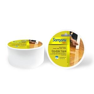 Samaru Tape - Double Tape 44 Mm - White- Tape Adhesive