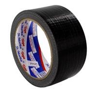 St Morita Tape - Cloth Tape - Lakban Kain 24 Mm - Black-Tape Adhesive 1