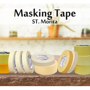 St. Morita - Masking Tape General  48 Mm - Yellow- Tape Adhesive