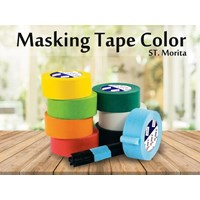 St. Morita - Masking Tape General 48 Mm - Yellow Tape Adhesive 1