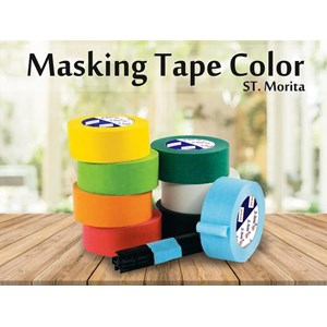 St. Morita - Masking Tape General 48 Mm - Yellow Tape Adhesive