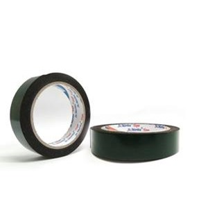 St. Morita - Double Pe Foam Tape Black 24 Mm - Green Tape Adhesive