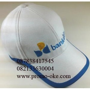 Topi bahan rafel promosi 16