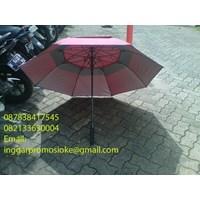 Promotional golf umbrella  fiber import