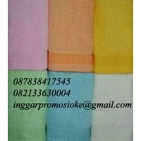 Promotional towels embroidered