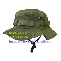 The jungle hats promotional materials ripstok Brown