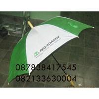 Payung standart promosi logo pegadaian