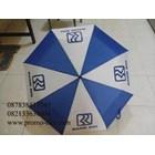 Umbrella fold three promotional logo BRI 2