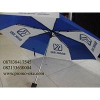 Payung lipat tiga promosi logo BRI