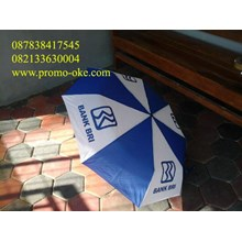 Umbrella fold three promotions
