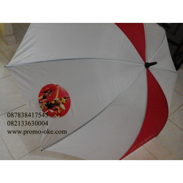 Sparacy screen printing promotional golf umbrellas