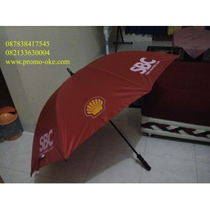 Payung golf promosi logo Shell