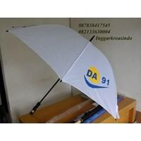 Payung golf promosi putih 1