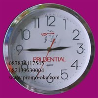 Promotional wall clocks from Seiko chroom