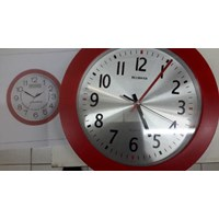 Promotional wall clock red 01