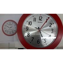 Jam dinding promosi merah 02
