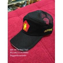 Topi  promosi bahan jaring warna hitam
