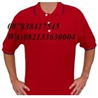 Shirt collar in red 1