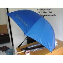 Payung golf biru