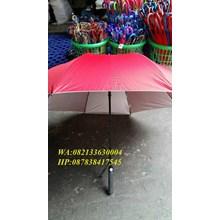 Payung golf fiber merah