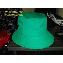 Topi rimba promosi warna hijau