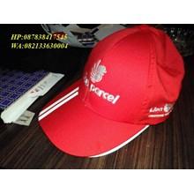 Topi  promosi warna merah lion