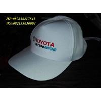 Topi Promosi Putih
