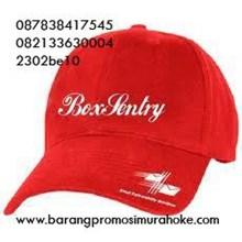 Cari topi promosi merah