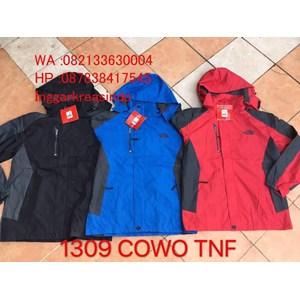 TNF jacket guy