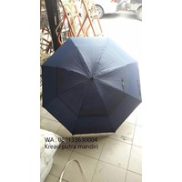 Golf umbrella blue fiber bundles dongker 01