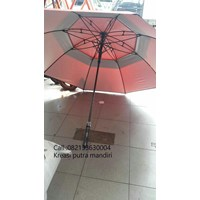 Promotional Umbrellas Golf Compose Fiber Blue Dongker 04