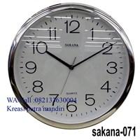 Wall clock sakana 36 cm