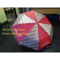 Umbrella fold batik